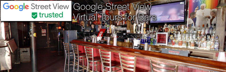 Example Google Street View Virtual Tours for Bars