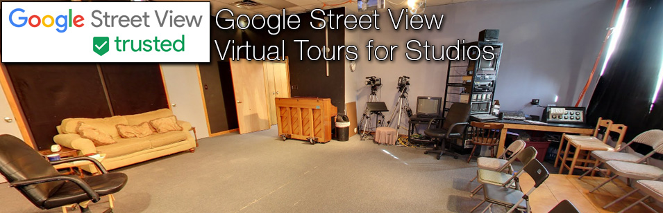 Example Google Street View Virtual Tours for Studios