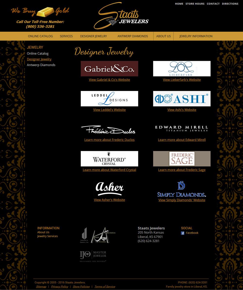 Sample Designer Lines Page Click To Enlarge