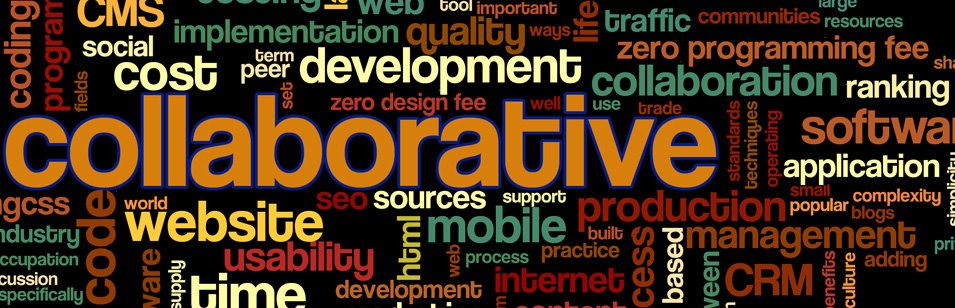 Sapphire Collaborative Tech Stuff Word Cloud